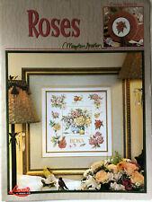 Leisure Arts- Lanarte- Roses Chart by Marjolein Bastin- OOP