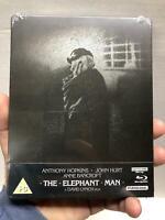 NEW ELEPHANT MAN STEELBOOK ZAVVI EXCLUSIVE 4K ULTRA HD BLU RAY VERY RARE OOP