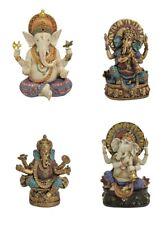 Ganesha Skulptur Buddha Elefantenkopf Meditation Figur verschiedene Motive