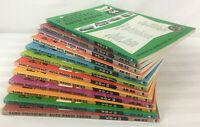 Lot of 12 Sams Photofact Auto Radio Series Books 83 to 94