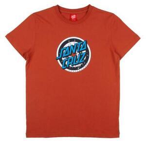 SANTA CRUZ - Youth Rob Target T Shirt Size  8 - 10 Skateboard Tee - Ketchup