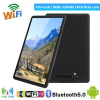 """10.4"""" Touch Tablet Android10 Octa Core LPDDR4 8GB 128GB ROM WiFi Dual Camera"""