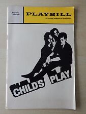 March 1970 -  Royale Theatre Playbill - Child's Play - Pat Hingle - Fritz Weaver