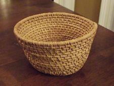 Native American Sweetgrass Basket