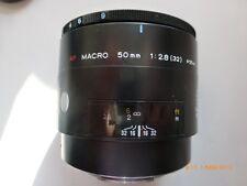Minolta Macro AF, 50 mm, 1:2,8 für Konika-Minolta und Sony alpha