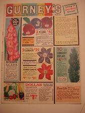 1962 GURNEY'S CATALOG Gurney Seed & Nursery Co., Yankton, SD