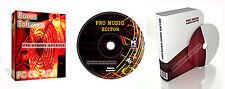 Pro Musik Aufnehmen Studio Mixen Bearbeitung Software Für PC Und Mac ++ Bonus