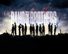 BAND OF BROTHERS CAST SIGNED PHOTO RE-PRINT #142