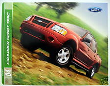 2004 Ford Explorer Sport Trac brochure - 2nd Printing