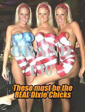 Art - Body Painting on Nude Women - The Dixie Chicks