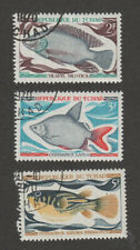 Chad 218-220 Fish (3) CTO