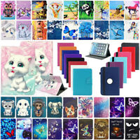 """For Acer Iconia one 7"""" 8"""" 10.1"""" Tablet Universal PU Leather Case Cover Xmas Gift"""