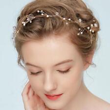 Women Gold Flower Headband Chain Head Piece Hair Band Hair Jewelry Gifts Hot.