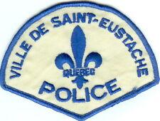 Ville de Saint-Eustache Police QC Quebec Police Patch Canada VINATGE!!!