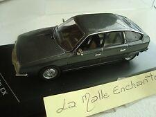 CITROEN CX 2400 GTI GRIS FONCE 1977 1/43° WHITEBOX NEUVE EN BOITE PLEXI
