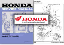 Honda VF750 Magna Service Workshop Repair Manual VF750C Custom 1994 2003 VF 750