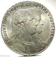 NAPOLI (Ferdinando IV) 120 Grana 1791-SPL+(/)q.FDC.
