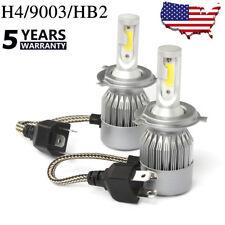 H4 HB2 9003 LED Headlight Kit High/Low Beam Bulbs White 6000K 72W Power 7600LM