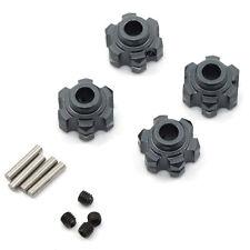 Gunmetal Alloy heavy duty alloy wheel hubs - HEXES for Axial Wraith