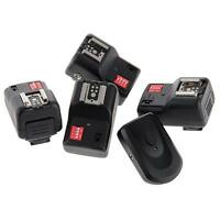 PT-16GY 16 Channels Wireless Flash Trigger+4 Receivers for Canon Nikon Pentax