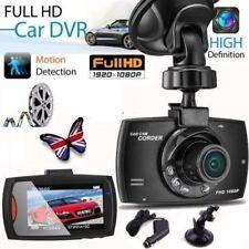 """HD 1080p Dash Cam Night Vision voiture DVR LCD 2.7"""" Caméra UK G Sensor Tableau de bord."""
