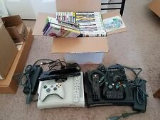 2 Used Xbox 360 Consoles + Games