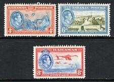 Bahamas KGVI  1938 Set SG158-60 M/Mint Cat £17