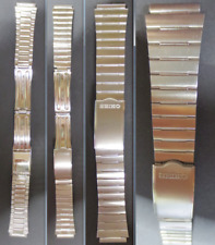 cinturino seiko b 1169 cinturino 17 20 strap band buckle deployante steel watch