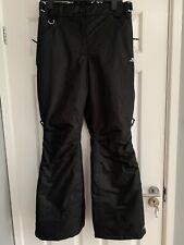 Women's Black Trespass Ski Trousers - Size Medium