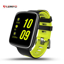Lemfo Bluetooth Wireless IP68 Waterproof Smart Watch Sport Mate For Android iOS