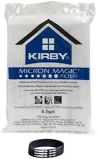 6 Kirby Universal F Style Cloth Sentria 2 Avilar Vacuum Cleaner Bags + 2 belts