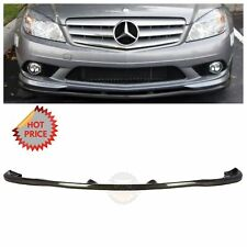 08-11 Mercedes Benz W204 C300 C350 Sport Carbon Fiber Front Lip *Usa Seller* (Fits: Mercedes-Benz)
