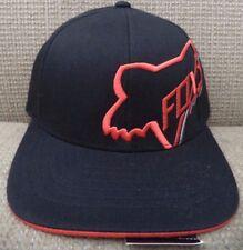 FOX KIDS TIMEOUT FLEXFIT CAP HAT BLACK *NEW*
