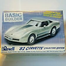 Revell 82 Corvette Basic Builder 1:24 Scale Model Kit Collectors Edition