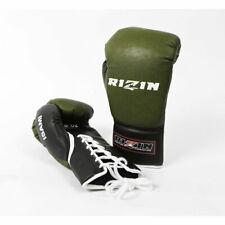 RIZIN ISAMI Official match Boxing gloves Lace up 8 oz made in JAPAN FedEx ship