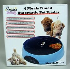 Timed Automatic Pet Feeder #AF 108 by Qpets NEW In Original Box!!