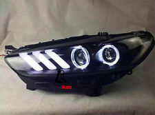 For 2013-2015 Ford Mondeo Fusion Headlights DRL Bi-xenon Projector Mustang Style