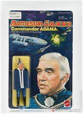 HIGHEST AFA Graded BATTLESTAR GALACTICA Series 1 COMMANDER ADAMA MOC Vintage 78