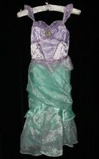 EUC Disney Store PRINCESS ARIEL Little Mermaid Dress Up Halloween Costume Sz 7/8