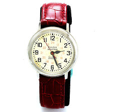 RAILROAD APPROVED 24 HOUR DIAL DIAL BULOVA SWISS WATCH CA1977
