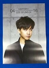 Lee Seung Gi - History  Official Poster New K-Pop