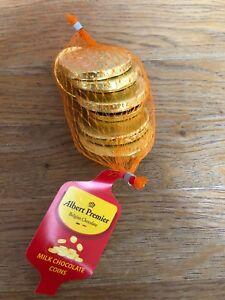 Albert Foiled Uk Milk Chocolate Coins In Net 75g