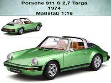Porsche 911 S 2.7 Targa 1974  Limitiert 999 Stück  GT Spirit GT780  in 1:18
