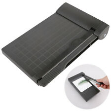 More details for portable a5 paper trimmer 1-6 inch photo paper guillotine built-in ruler papers