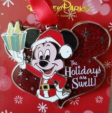 Disney Parks Mickey Mouse Holidays are Swell Christmas 2014 Ornament Pin on Pin
