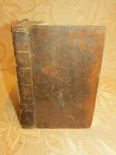 Antique Book Of Select Fables Of Esop And Other Fabulists In Three Books - c1790