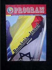 Original PRG    03.03.2010    RUMÄNIEN - ISRAEL  !!  SELTEN