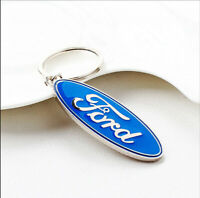 Ford 3D Blue Car Key Chain Keychain Keyfob Keyrings Car Key ST