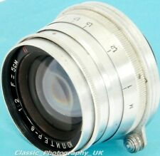 Jupiter-8 2/50mm LEICA LTM Lens 50mm F2 Made in 1955 for LEICA IIID Leica M6 M8