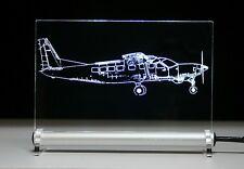 Supervan 900 como grabado en pantalla luminosa de LED volar avión Cessna Caravan